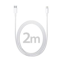 Originální Apple USB-C / Lightning kabel - 2m - bílý