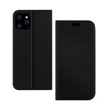 Pouzdro DZGOGO pro Apple iPhone 11 Pro Max - prostor pro platební karty - umělá kůže - černé