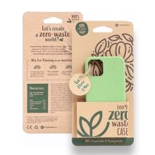 Kryt FORCELL BIO - pro Apple iPhone 12 mini - Zero Waste kompostovatelný kryt - zelený