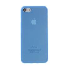 Kryt / obal pro Apple iPhone 7 / 8 / SE (2020) - ochrana čočky - ultratenký - plastový - matný - modrý