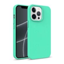 Kryt pro Apple iPhone 13 Pro Max - slaměné kousky - gumový - zelený