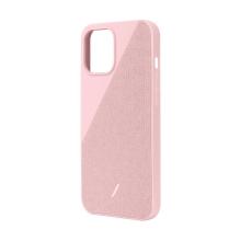Kryt NATIVE UNION Clic Canvas pro iPhone 12 Pro Max - růžový