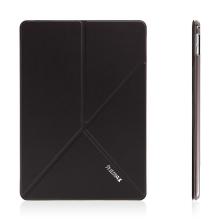 Pouzdro REMAX pro Apple iPad Air 2 variabilní stojánek, funkce chytrého uspání - černé