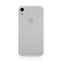 Kryt / obal pro Apple iPhone Xr - ochrana čočky - ultratenký - plastový - matný - průhledný