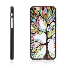 Kryt pro Apple iPhone 6 / 6S gumový - barevný strom