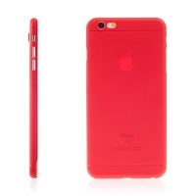 Kryt pro Apple iPhone 6 Plus / 6S Plus plastový tenký ochrana čočky červený
