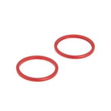 Kroužek krycího sklíčka zadní kamery Apple iPhone 11 - sada 2ks - červený - kvalita A+