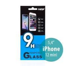 Tvrzené sklo (Tempered Glass) pro Apple iPhone 12 mini - na přední stranu - 0,33mm
