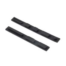 Antiprachové silikonové záslepky pro Apple MacBook Pro 15.4 - černé