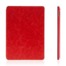 Pouzdro DEVIA pro Apple iPad Pro 9.7 - elegantní - stojánek a funkce chytrého uspání - červené