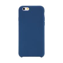 Kryt pro Apple iPhone 6 / 6S - gumový - příjemný na dotek - tmavě modrý