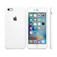 Originální kryt pro Apple iPhone 6 Plus / 6S Plus - silikonový - bílý
