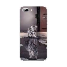 Kryt pro Apple iPhone 7 Plus / 8 Plus - gumový - odraz tygra