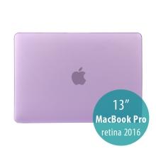 Obal / kryt pro MacBook Pro 13 Retina 2016 / 2017 (A1706, A1708) - plastový - fialový