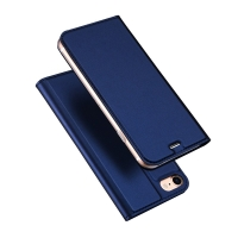Pouzdro DUX DUCIS pro Apple iPhone 7 / 8 / SE (2020) - umělá kůže - tmavě modré