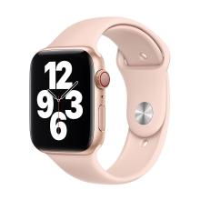 Originální řemínek pro Apple Watch 45mm / 44mm / 42mm - silikonový - pískově růžový