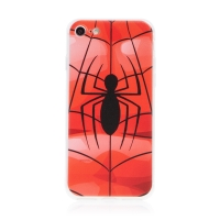 Kryt MARVEL pro Apple iPhone 7 / 8 / SE (2020) - gumový - pavouk