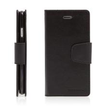 Pouzdro Mercury Sonata Diary pro Apple iPhone 7 / 8 - stojánek a prostor na doklady - černé