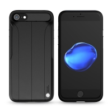 Kryt Nillkin Amp pro Apple iPhone 7 / 8 s pasivním zesilovačem zvuku - gumový - černý