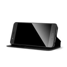 Pouzdro DUX DUCIS pro Apple 6 Plus / 6S Plus / 7 Plus / 8 Plus - umělá kůže - černé