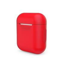 Pouzdro / obal pro Apple AirPods - tenké - silikonové - červené