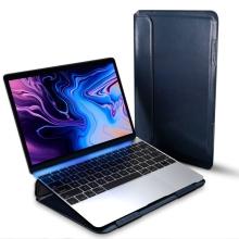 """Pouzdro DUX DUCIS pro Apple MacBook Pro / Air 13"""" - umělá kůže - modré"""