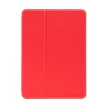 Pouzdro / kryt X-LEVEL pro Apple iPad mini 1 / 2 / 3 / 4 / 5 - chytré uspání + slot pro Pencil - gumové - červené