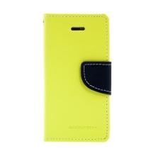 Ochranné pouzdro pro Apple iPhone 5 / 5S / SE Mercury se stojánkem a prostorem pro umístění platebních karet - zelené / modré