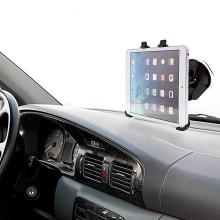 Držák s přísavkou do automobilu pro Apple iPad mini / mini 2 / mini 3 - 360° rotační - černý