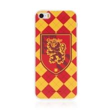 Kryt Harry Potter pro Apple iPhone 5 / 5S / SE - gumový - emblém Nebelvíru