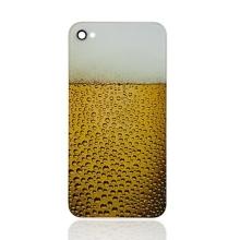 Náhradní zadní kryt (sklo) pro Apple iPhone 4 - pivko