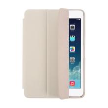 Pouzdro / kryt pro Apple iPad mini 1 / 2 - funkce chytrého uspání + stojánek - šedé