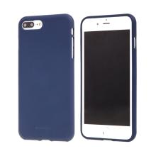Kryt MERCURY Soft feeling pro Apple iPhone 7 Plus / 8 Plus - gumový - půlnočně modrý