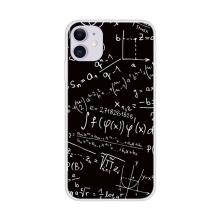 Kryt pro Apple iPhone 12 / 12 Pro - gumový - rovnice