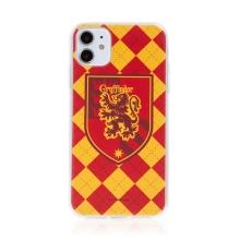 Kryt Harry Potter pro Apple iPhone 11 - gumový - emblém Nebelvíru