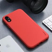 Kryt IPAKY pro Apple iPhone Xr - gumový - červený
