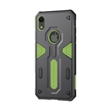 Kryt Nillkin pro Apple iPhone Xr - odolný - plast / guma - zelený / černý