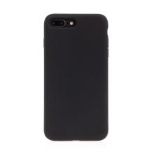 Kryt pro Apple iPhone 7 Plus / 8 Plus - příjemný na dotek - silný - silikonový - černý