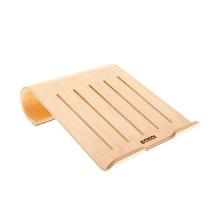 Stojan / podstavec SAMDI pro Apple MacBook / iPad - dřevěný světlý