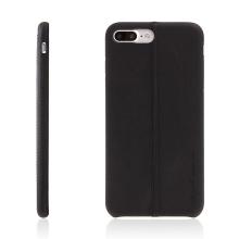 Kryt USAMS pro Apple iPhone 7 Plus / 8 Plus - umělá kůže - černý