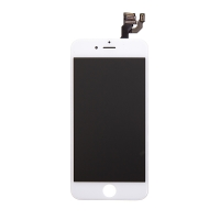 LCD panel + dotykové sklo (touch screen digitizér) pro Apple iPhone 6 - osazený bílý - kvalita A