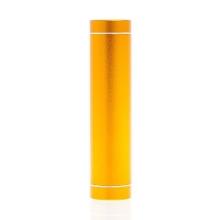 Mini externí baterie 2600mAh - zlatá (champagne)