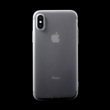 Kryt pro Apple iPhone X - gumový - šedý