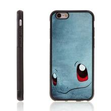 Kryt pro Apple iPhone 6 / 6S - kovový povrch - gumový - Pokemon Go / Squirtle