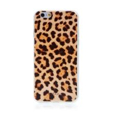 Kryt BABACO pro Apple iPhone 6 / 6S - gumový - leopardí vzor