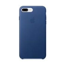 Originální kryt pro Apple iPhone 7 Plus / 8 Plus - kožený - safírově modrý
