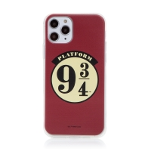 Kryt Harry Potter pro Apple iPhone 11 Pro - gumový - nástupiště 9 a 3/4 - červený