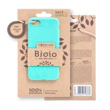 Kryt FOREVER BIOIO - pro Apple iPhone 7 / 8 / SE (2020) - Zero Waste kompostovatelný kryt - mátový