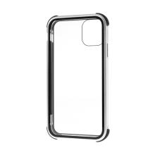 Kryt pro Apple iPhone 11 - 360° ochrana - magnetické uchycení - skleněný / kovový - stříbrný