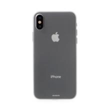 Kryt pro Apple iPhone X - ochrana čočky - ultratenký - plastový - bílý